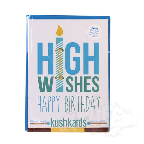 High Wishes Birthday Greeting Card