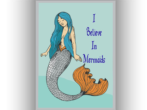 Mermaid Tin Sign