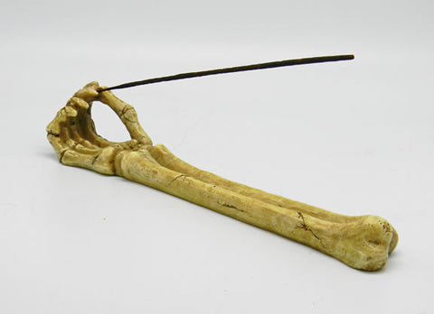 Skeleton Arm Incense Burner