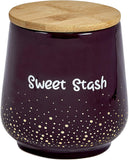 Sweet Stash Ceramic Jar