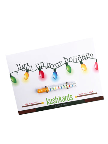 Christmas Greeting Card and One Hitter