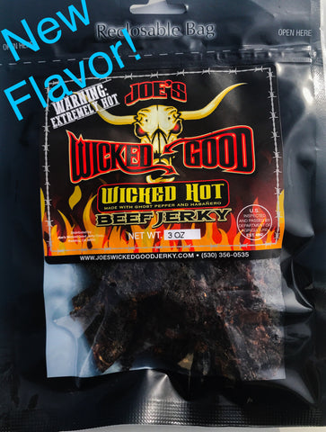 Wicked Hot Beef Jerky