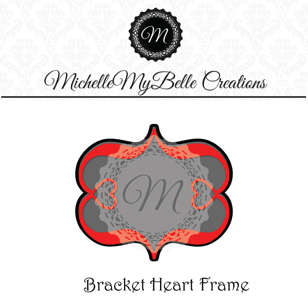 Bracket Heart Frame