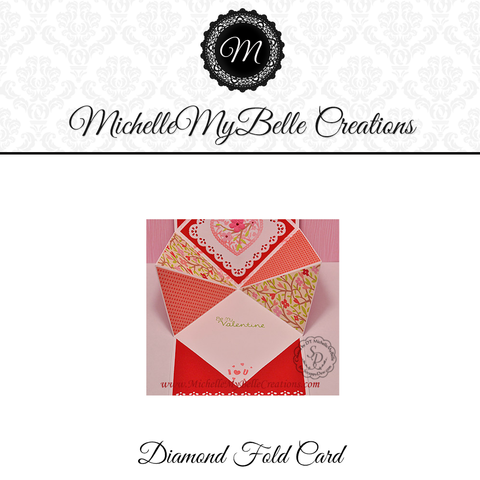 Diamond Fold Card