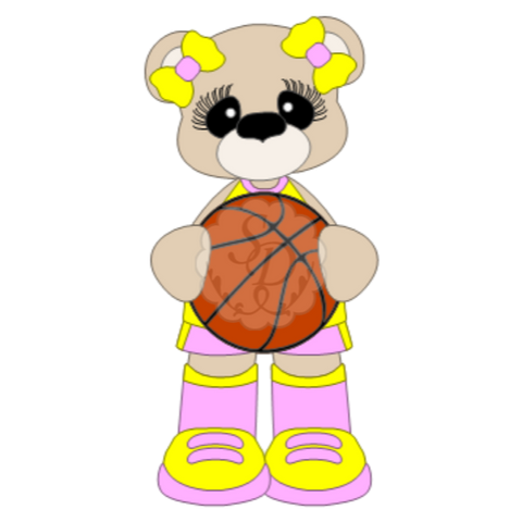 Basketball Bears (Boy or Girl)