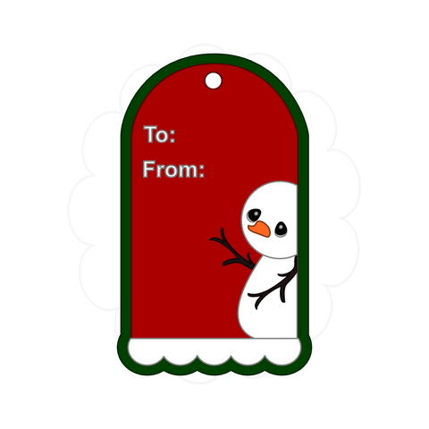 Christmas Tag Freebie