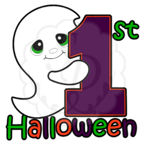 Celebrating 1st Halloween (Ghost)