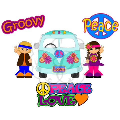 Groovy Palz, Peace, Bus, Love,