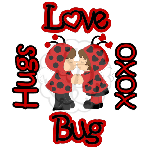 Kids in Ladybug Outfits with Sentiments