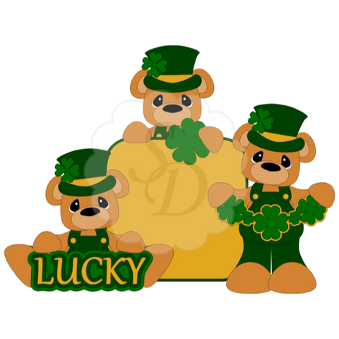 St. Patrick's Day Bears