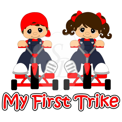 Tricycle, My First Trike