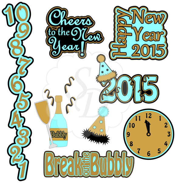 New Years images 2015