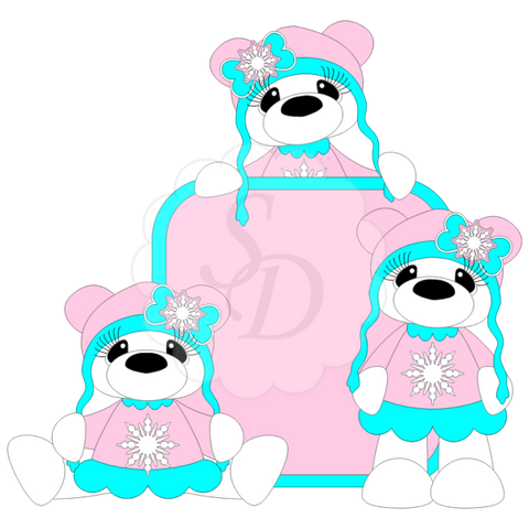Sweater Bears (Boy or Girl)