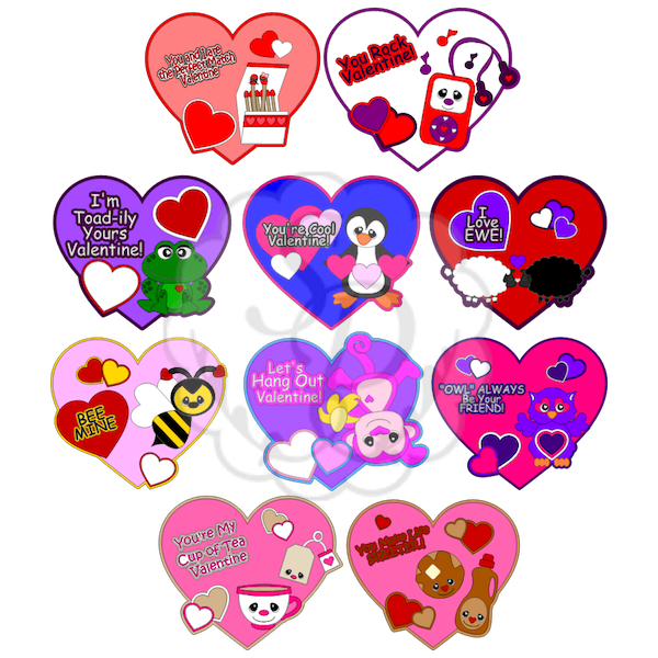 Valentine's Day Hearts