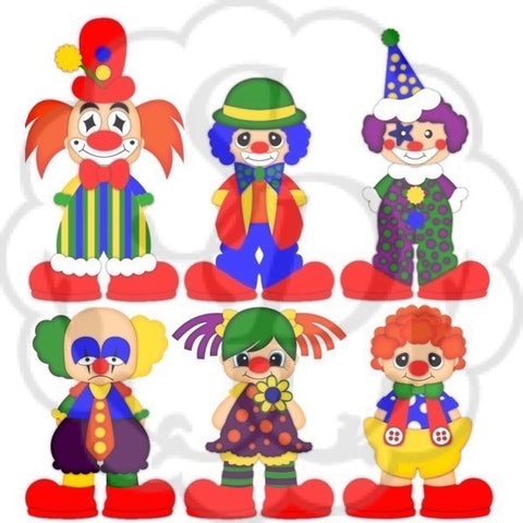 Clown - Clip Art