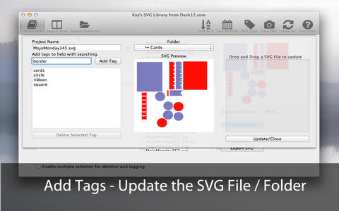 SVG Library - For Mac or Windows