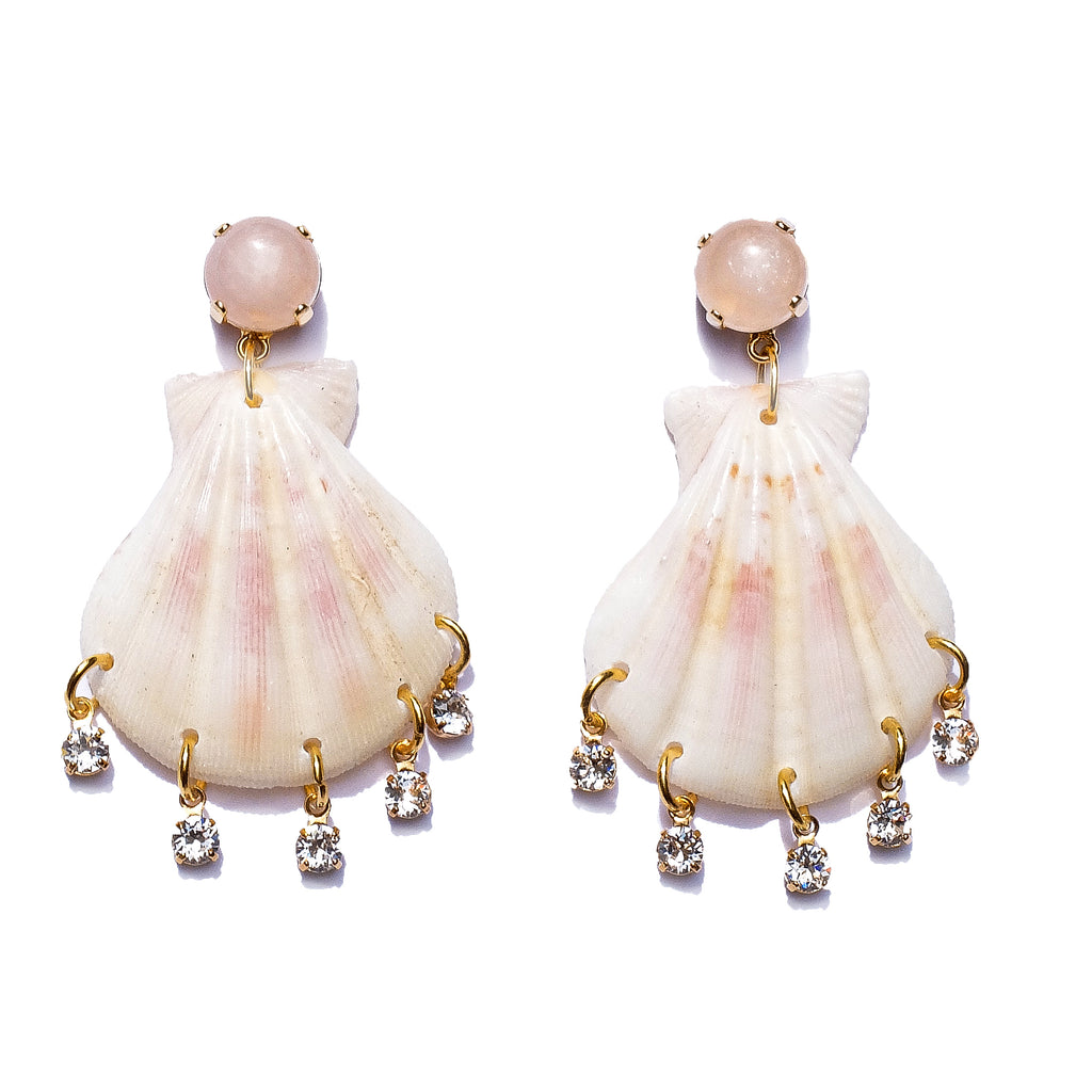Tessa Shell Earrings