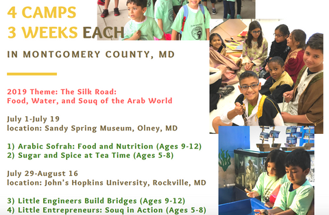 Arabic summer camp US