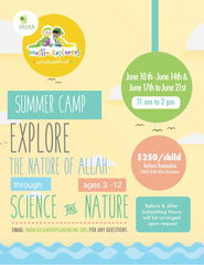 Arabic summer camp
