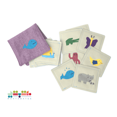 MATCHING PATCHES MEMORY GAME (Animals)