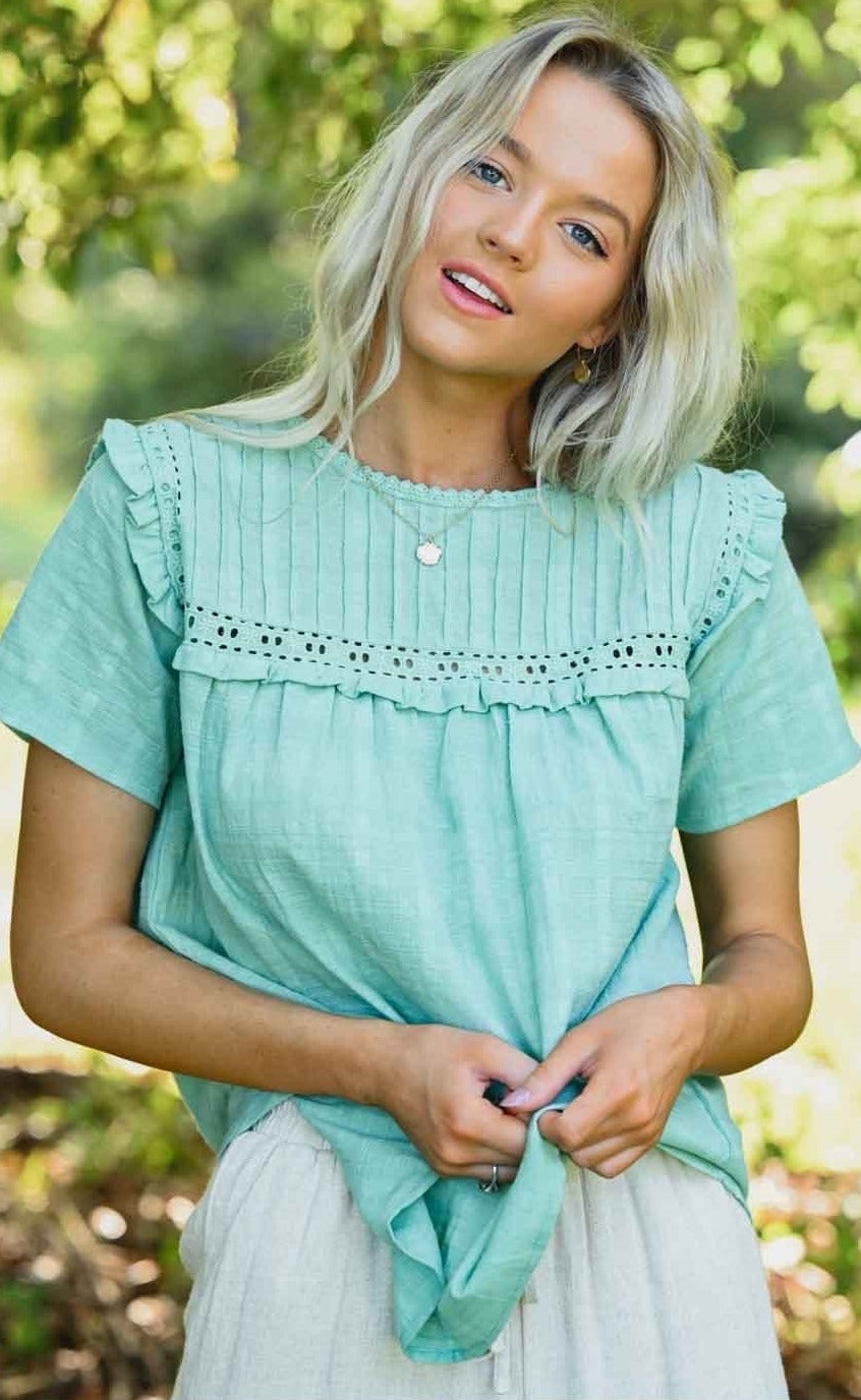 TAMSIN TOP - Green