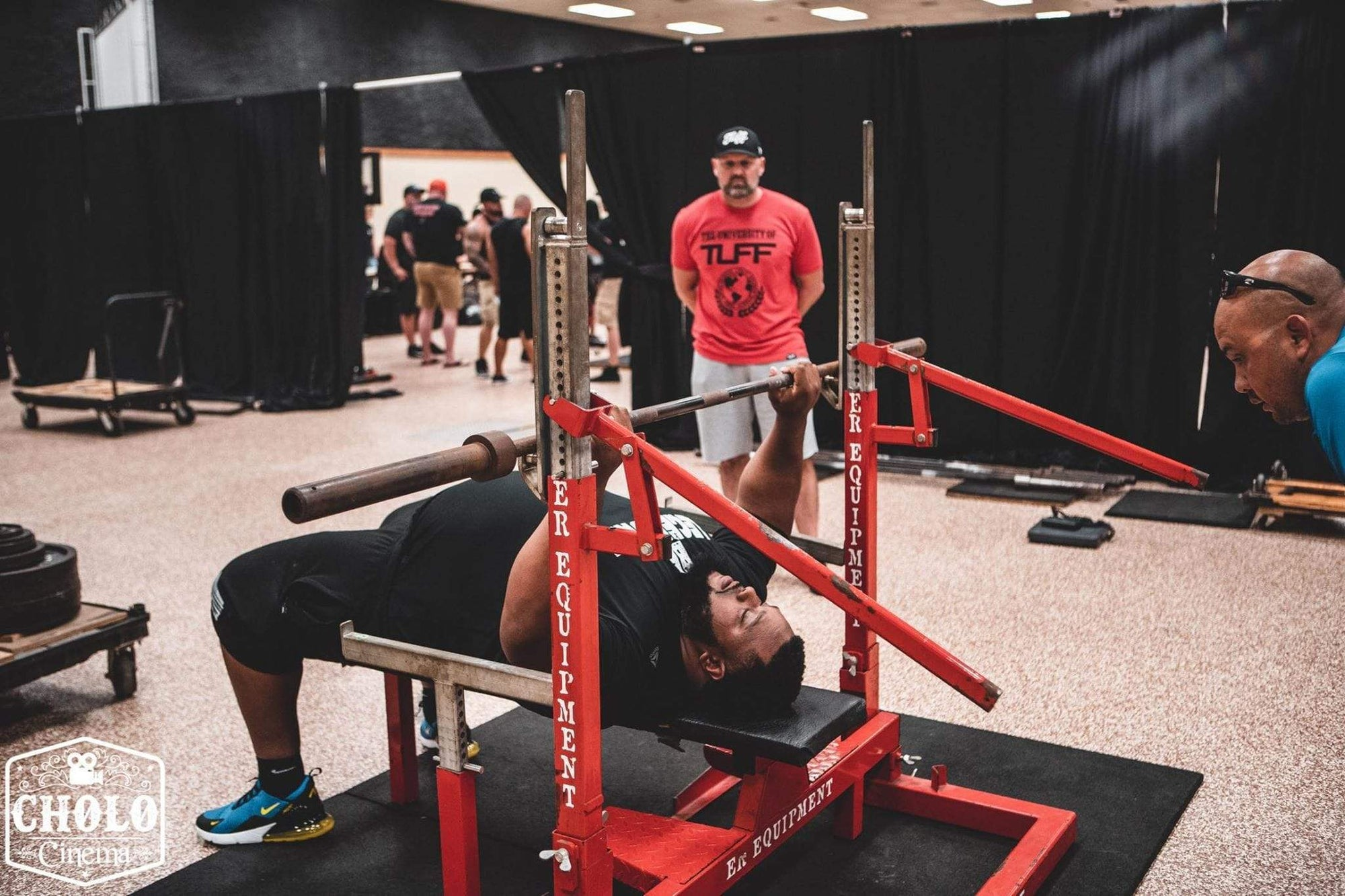 Julius Maddox Attempts a Bench Press World Record today!