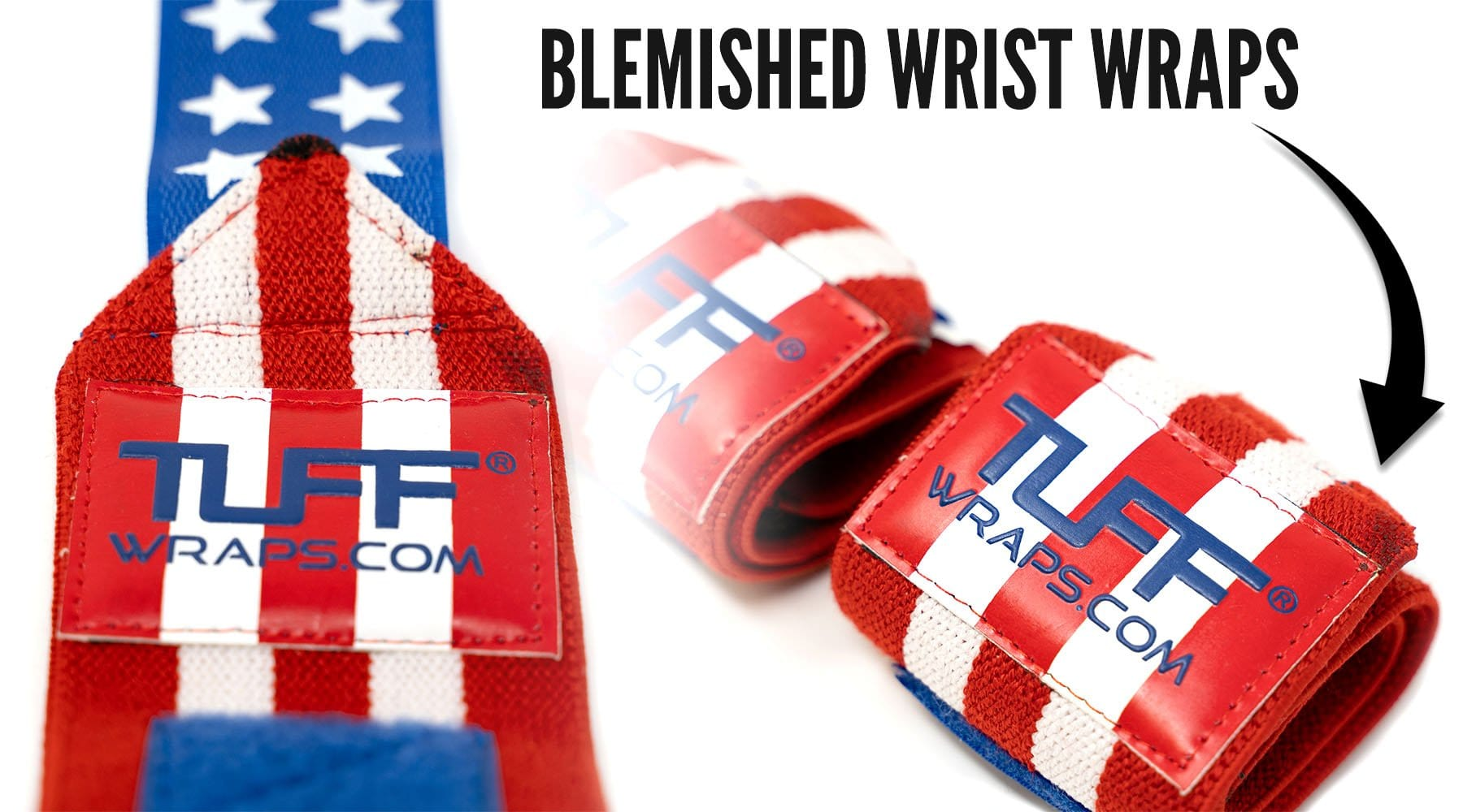 Deep Discounts When Buying our Blemished Wrist Wraps....Learn More