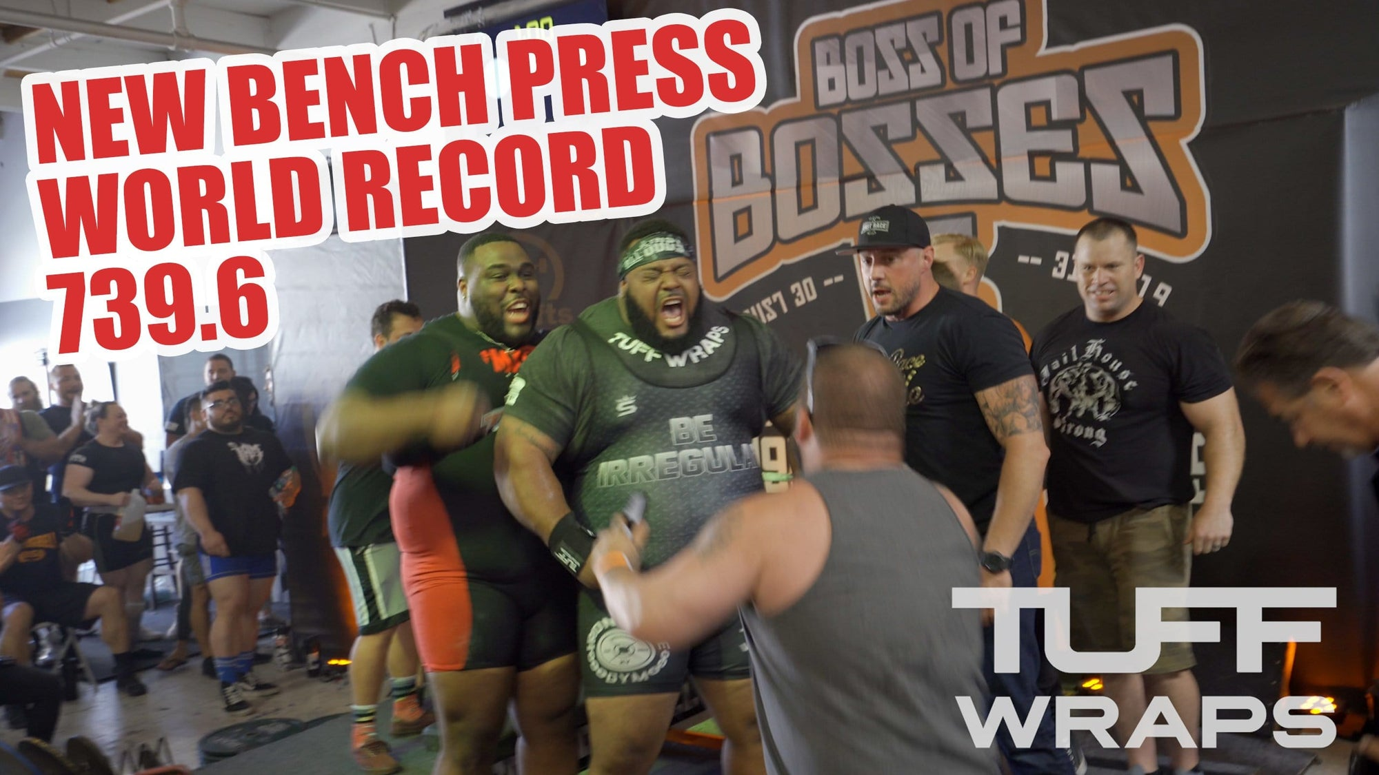 VIDEO: Julius Maddox is Now The World Bench Press Record Holder (739.6 lbs / 335.5kg)