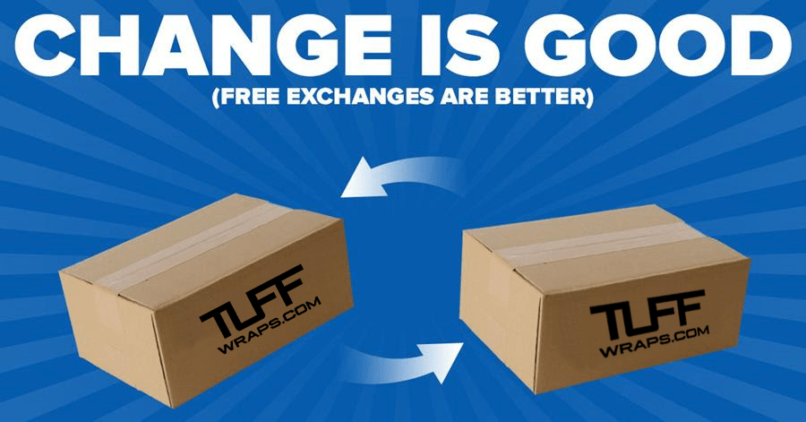We Are Now Offering Free Exchanges & Easy Returns