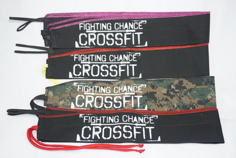 Fighting Chance CrossFit Custom Wrist Wraps