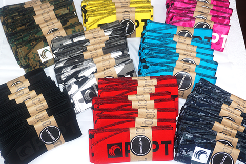 Packaged Custom Wrist Wraps