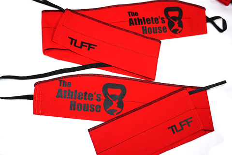 The Athlete's House Custom Wrist Wraps