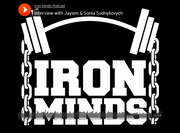 TuffWraps Podcast Interview with Iron Minds Podcast 7/9/17