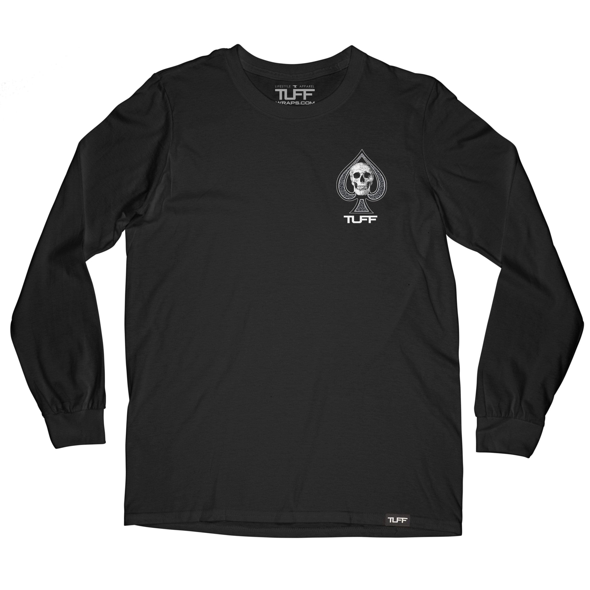Aces of TUFF Long Sleeve Tee TuffWraps.com