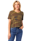 Camo Loose Fit Crop Tee TuffWraps.com