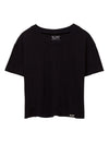 Loose Fit Crop Tee XS / Black TuffWraps.com