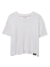 Loose Fit Crop Tee XS / White TuffWraps.com