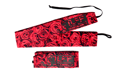 Red Rose Wrist Wrap Support TuffWraps.com