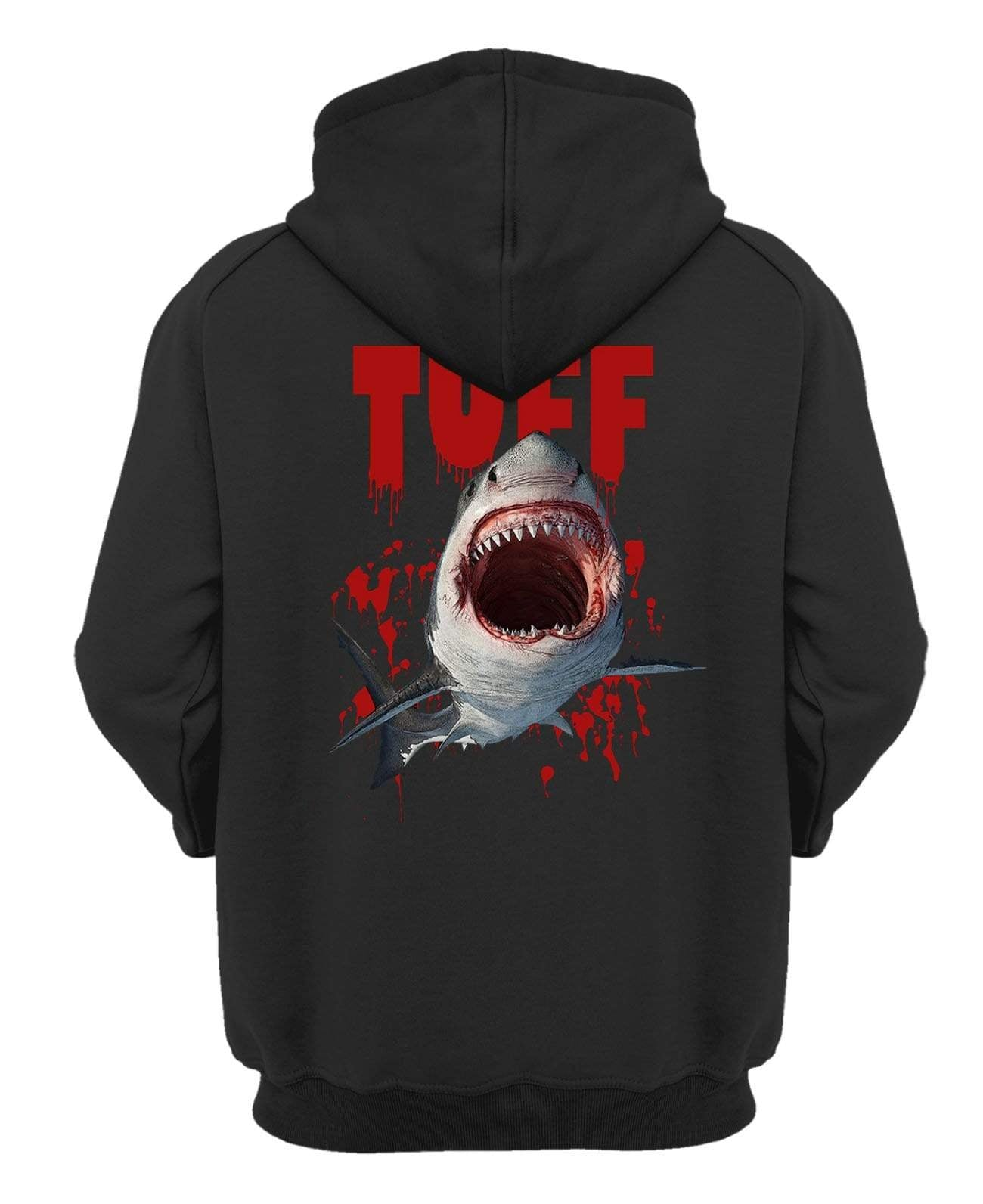 The Great White Hooded Sweatshirt XS / Black TuffWraps.com