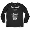 Time to Eat Long Sleeve Tee S / Black TuffWraps.com