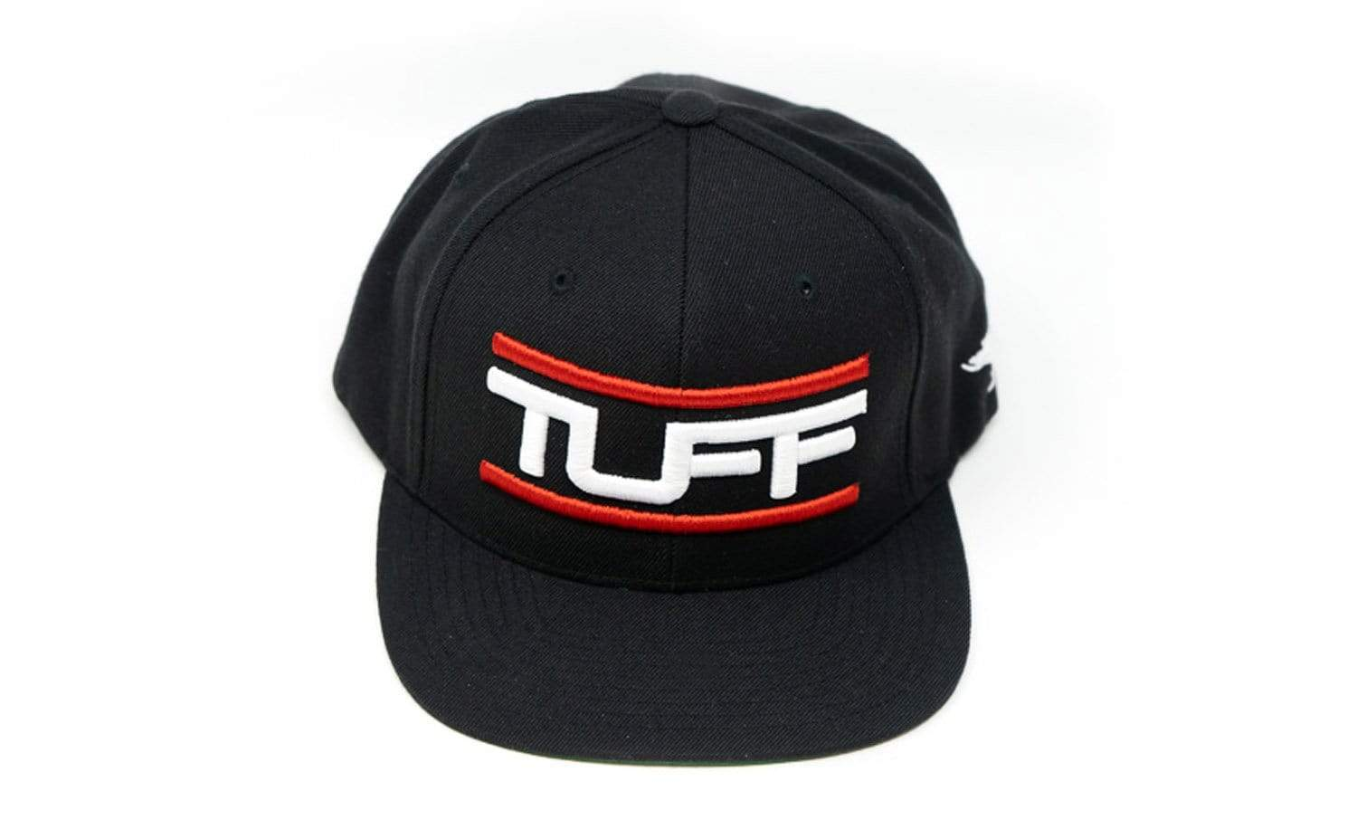 TUFF Bar'd Red/White Snapback Hat TuffWraps.com