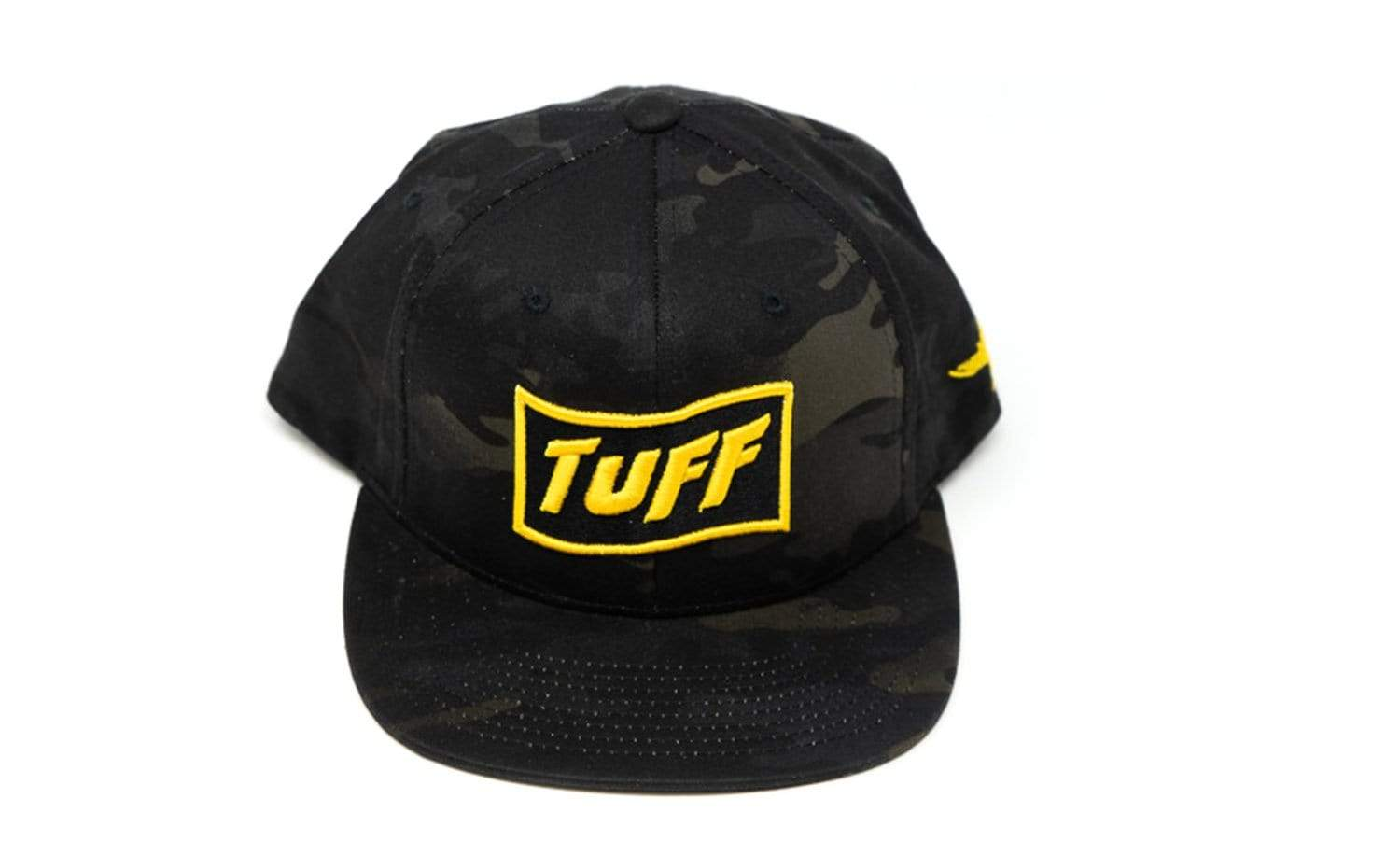 TUFF High Octane Multi Camo Snapback Hat - Yellow TuffWraps.com