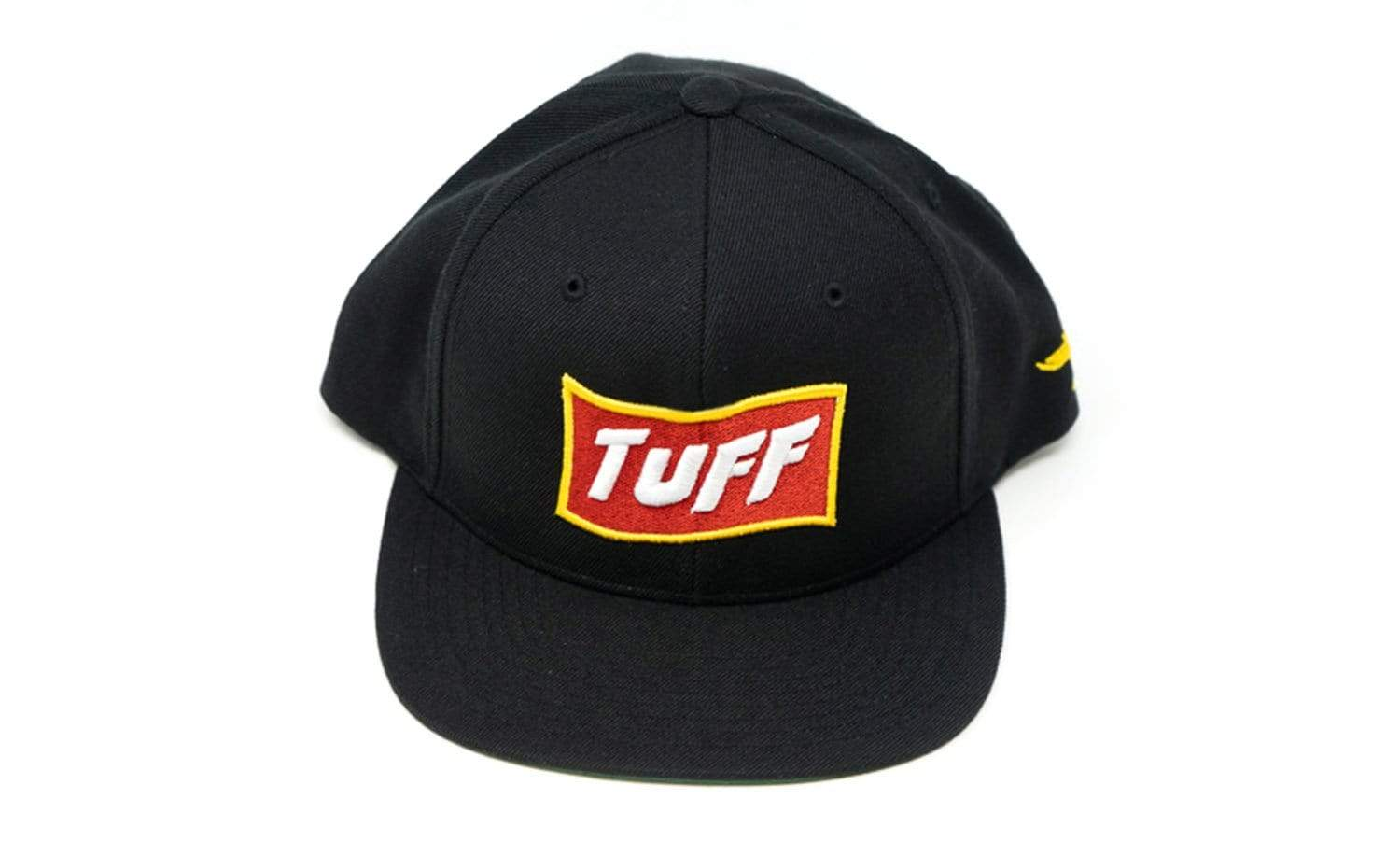 TUFF High Octane Yellow/Red Snapback Hat TuffWraps.com