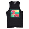 TUFF Palm Sunset Tank S / Black TuffWraps.com