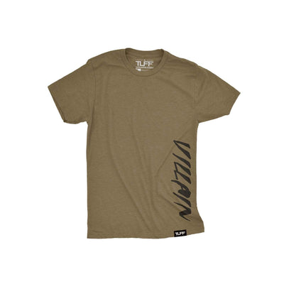 Villain Side Youth Tee XS / Military Green TuffWraps.com