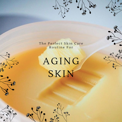 aging skin signs