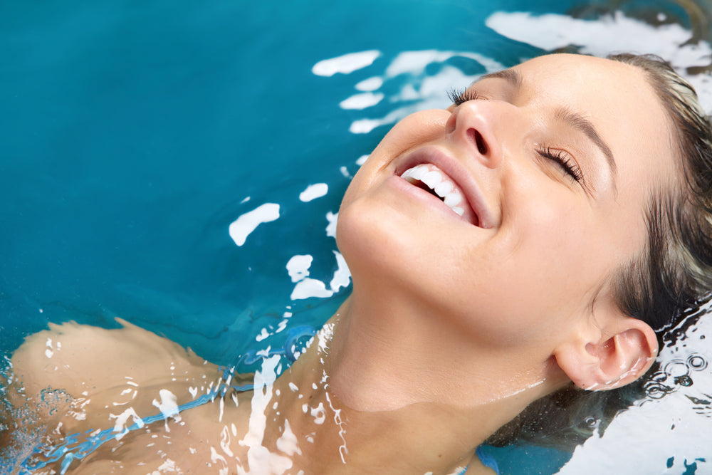 hydrotherapy for better skin texture