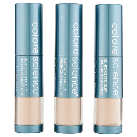 ColoreScience Sunforgettable Total Protection Brush-On Shield SPF 50 Multipack | Apothecarie New York