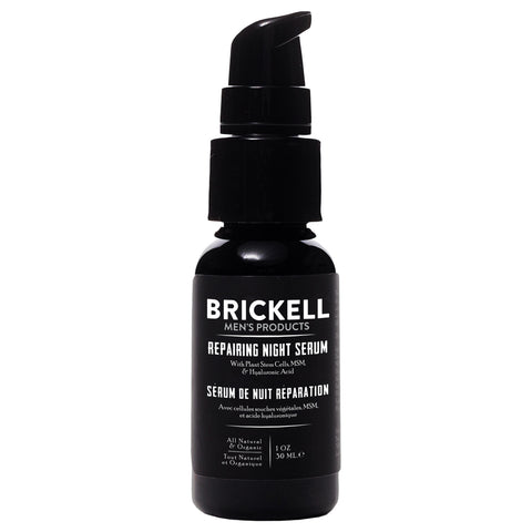 Brickell Men's Products Repairing Night Serum | Apothecarie New York