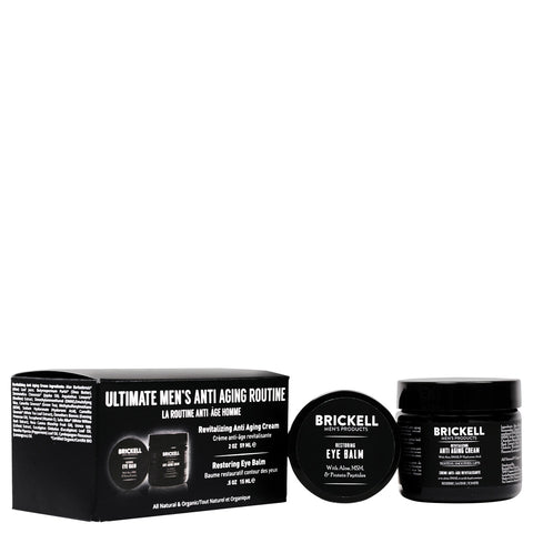 Brickell Men's Products Ultimate Men's Anti-Aging Routine | Apothecarie New York